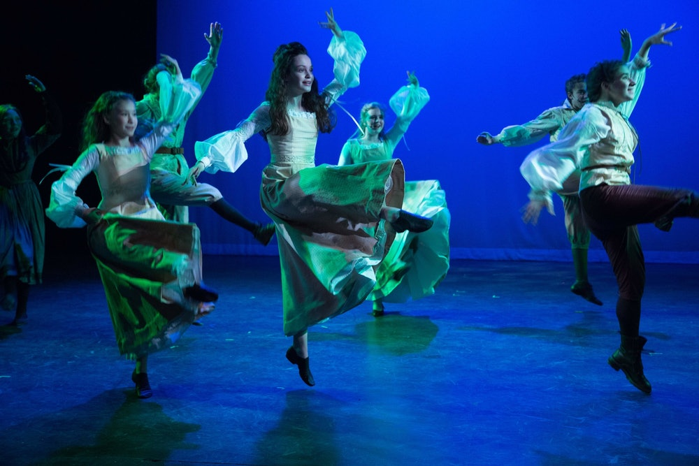 <p>Tuck - dance- performance at New England Youth Theater (NEYT) - photo courtesy of NEYT</p>