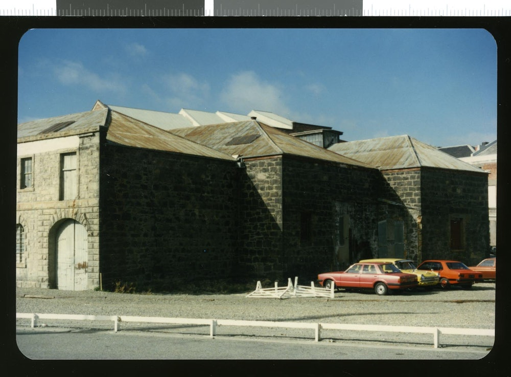 <p>The former Landing Services store in George Street, Timaru, circa 2000.</p>