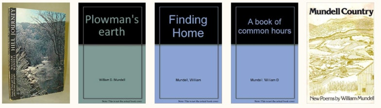 <p>Mundell book covers</p>