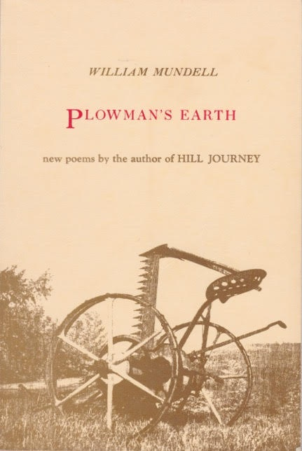 <p>Plowman's Earth by William Mundell - book cover</p>