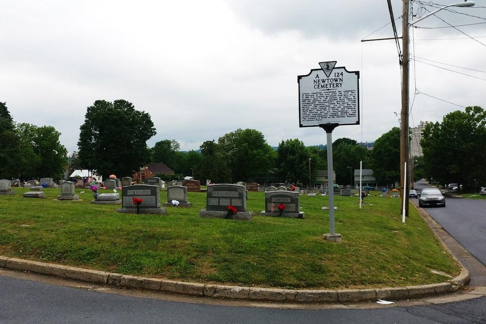 <p>Newtown Cemetery</p>