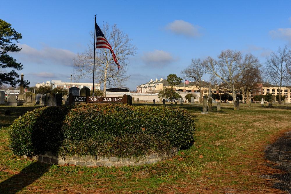 <p>West Point Cemetery</p>