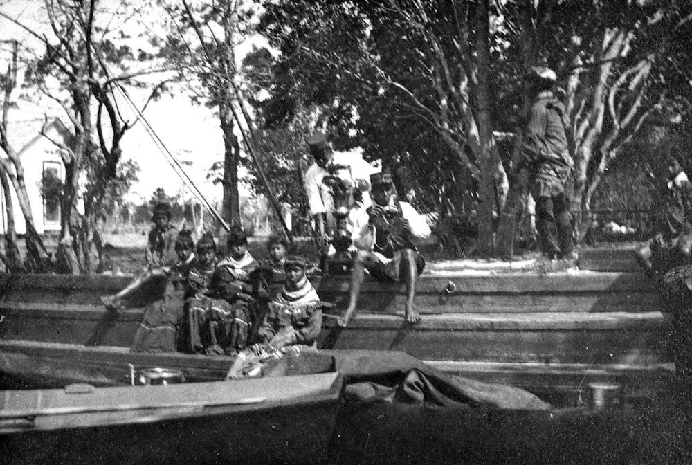 <p>Seminoles at Stranahan camp established in 1893 by Frank Stranahan.</p>