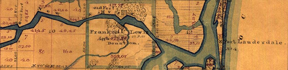 <p>1870 - Three Forts</p>