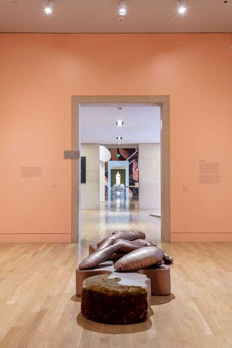 <p>The <em>Canapé Homme Géant / Sofa Homme (Giant Cut in Pieces), </em>Nicola L.</p>