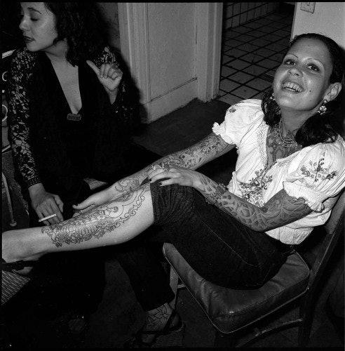 <p>Reynaldo Rivera, <em>Anna LaCazio and Judy Pokonosky, Echo Park</em>, 1989. Digital prints from negatives. 30 x 30 in. (76.2 x 76.2 cm).</p>