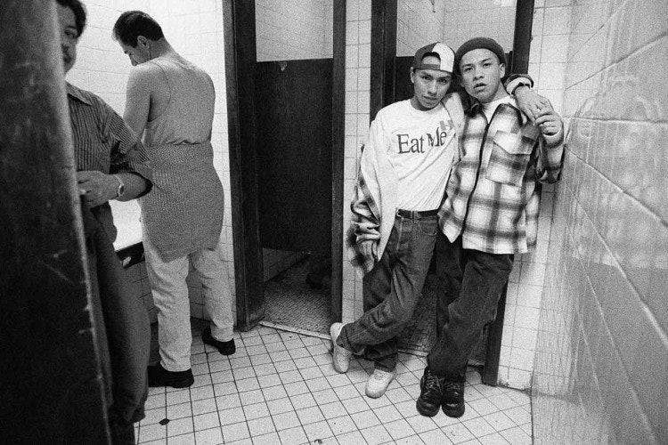 <p>Reynaldo Rivera, <em>La Plaza</em>, 1997. Digital prints from negatives. 30 x 45 in. (76.2 x 114.3 cm).</p>