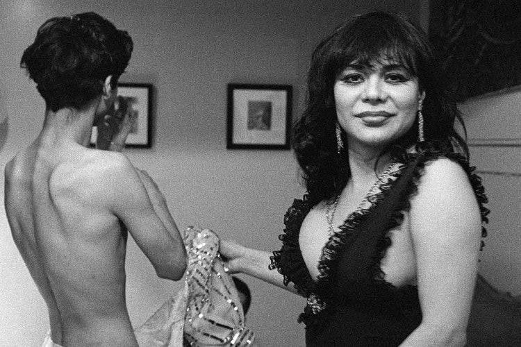 <p>Reynaldo Rivera, <em>Miss Alex, Echo Park</em>, 1992. Digital prints from negatives. 30 x 45 in. (76.2 x 114.3 cm).</p>