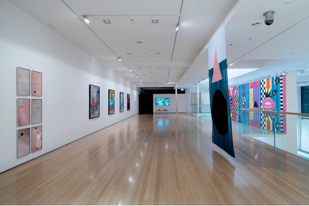 <p>Installation view | <em>Mānawatia Takatāpui—Defending Plurality</em>, Tauranga Art Gallery, 23 July – 10 October 2021</p>